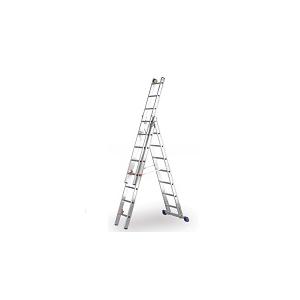 Escada tripla PRIME, número de degraus 6+7+7. EN131