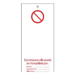 Etiquetas bloqueio BRADY 813652 (conj.10 etiq.e 10 presilhas