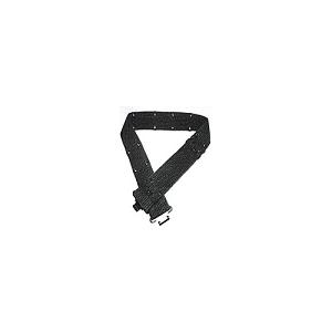 Cinturão em cor Verde com Fivela Metálica e Ajuste por Ilhós
