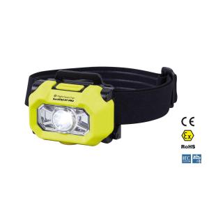 Lanterna ATEX de cabeça/capacete com 220 lúmens