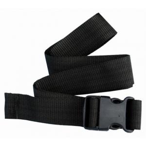 Cinto Clássico de nylon ajustável cor preta 135*4cm