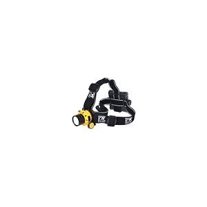 Lanterna de Cabeça c/ Funções: Alta-Média-Baixa-Flash-SOS