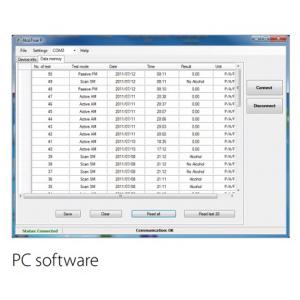 Software para alcoolímetro AlcoTrueP.