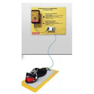 Máquina para testes electroestáticos (ESD) a calçado.