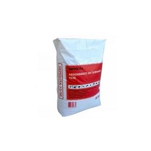 Granulado mineral (sepiolita) absorvente, 20/40,saco de 20kg