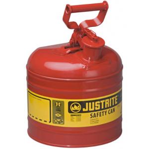 Jerrican p/transp. liquidos inflamáveis c/capacidade 7,5 lts