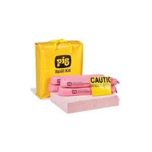 Kit Anti-Derrame NEW PIG para quimicos capacidade 34 litros