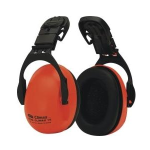 Abafador auricular Climax c/adaptador p/capacetes Climax 16P
