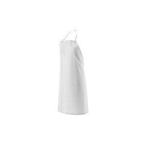 Avental PVC/POL/PVC cor branco com 110*75 espessura 0.35mm