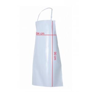 Avental com peito de pvc, 80% PVC/20% poliester. 470gr/m2