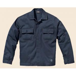 Blusao Symbol com 2 bolsos, cor azul marinho, 100% Algodao