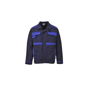Casaco Krakow bicolor, 100% algodão. 260g/m2