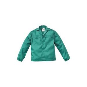 Blusão em tec.100% Algodão Ignifugo Verde, c/280 grs m2