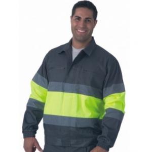 Blusão AV, 65% Poliester 35% Algodão com 200 grs