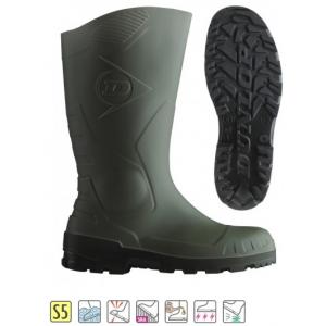 Galocha segurança S5 Dunlop® Devon Verde/Preto