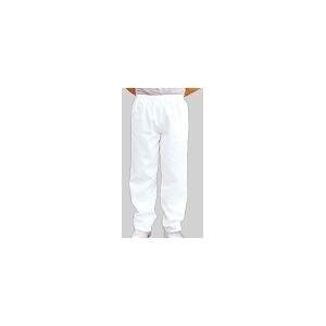 Calça Branca de Padeiro com Elastico na Cintura
