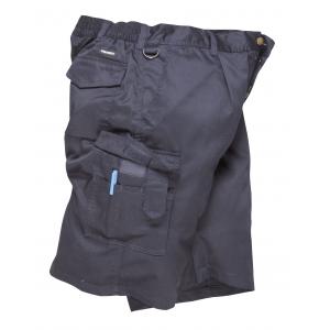 Calçoes multibolsos Short com elastico na cinta, cor Marinho