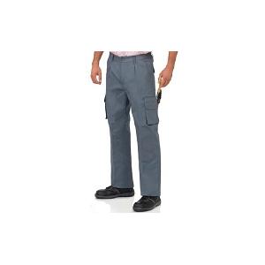 Calça multibolsos c/ reforço nos joelhos e entre pernas