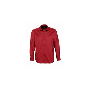 Camisa Brighton m/comprida, 97% algodão,3% elastano, 140g/m2