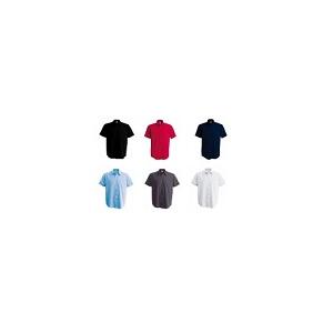 Camisa de Homem de manga curta 100% algodão popeline
