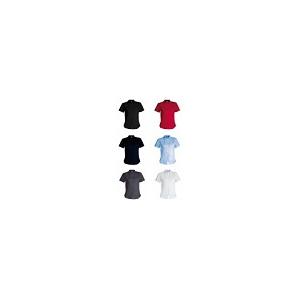 Camisa de Senhora de manga curta 100% algodão popeline