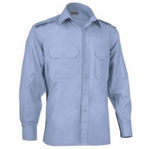 Camisa M/comprida c/2 bolsos e presilhas p/Bombeiros-Vigil.