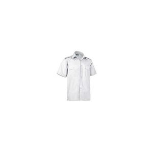 Camisa de manga curta, 120 grs com aplicação para divisas