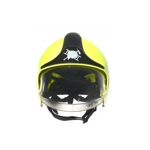 Capacete de bombeiros Drager R79177 cor preto com visor