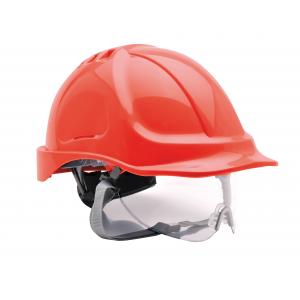Capacete Endurance Plus com oculo integrado EN 397:1995