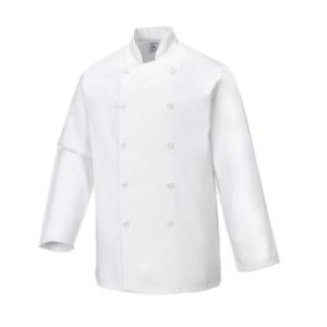 Casaco de cozinheiro Sussex Branco