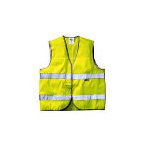 Colete reflector de Alta Visibilidade Amarelo por Tamanhos