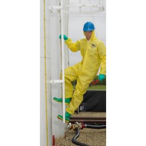 Fato-Macaco Prot.Quimica de cor Amarelo ChemMax1 Lakeland