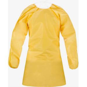 Bata de Protecção Quimica de cor Amarelo ChemMax1 Lakeland