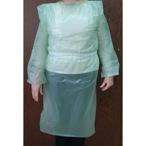Resguardo/Bata em Plástico, embalagem de 100 unidades