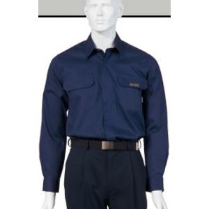 Camisa Ignifuga e Anti-Estatica em cor Azul Marinho