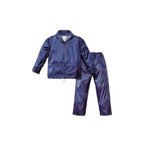 Fato Impermeavel Nylon de cor Azul