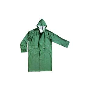 Capa Impermeavel PVC/ Poliester na cor Verde