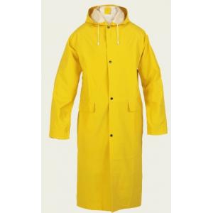 Capa Impermeavel PVC/ Poliester na cor Amarelo.