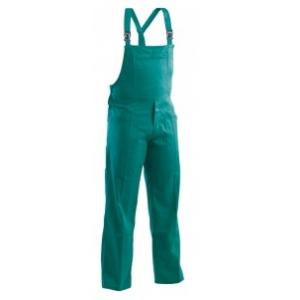Jardineira em sarja 100% Algodão em cor Castanho ou Verde