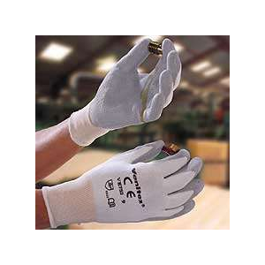 Luva de malha sem costuras em fibra DYNEEMA®. Agulha 13