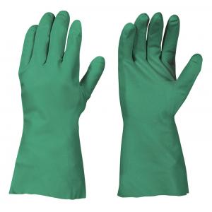 Luva de Nitrilo Verde 31 cms tipo Sol-Vex EN 388, EN 374 c.3