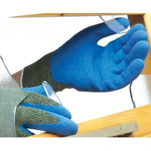 Luva anti-corte s/costuras recoberta latex POLYCO REFLEX G5