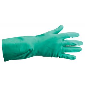 Luva Nitrosafe Chemical cor verde em nitrilo c/forro algodao