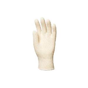 Luva 100% malha de algodão sem costuras cor cru