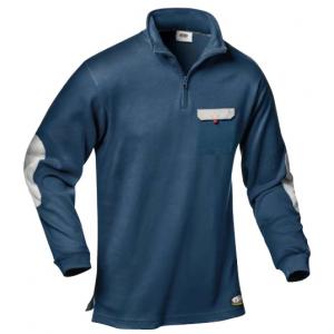 Polo-Shirt Zara bicolor 100% alg. 280 grs.disponivel 3 cores