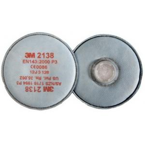 Filtro 3M 2138 P3R, vapores orgân.e gases ácidos < VLA,ozono