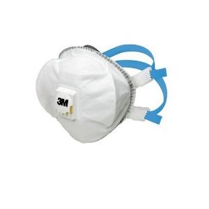 Mascara 3M, FFP2 R D com válvula, reutilizável.Emb. de 5 uni