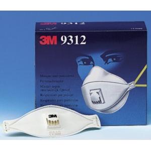 Mascara 3M 9312 autofiltrante de particulas FFP1 NRD c/valv.