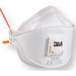 Mascara 3M ref. 9332 FFP3 c/valvula,embalada individualmente