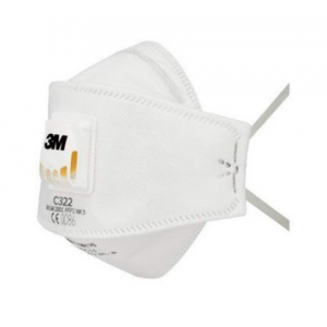 Mascara descartável 3M C322, FFP2 NR D c/ valvula